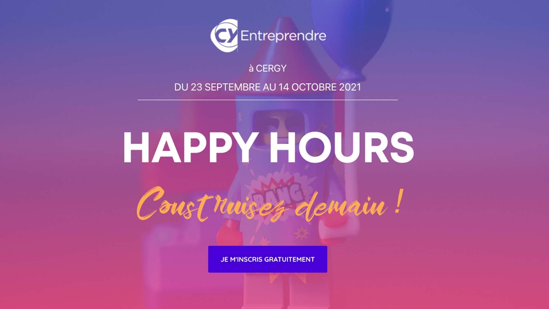 CY Entreprendre happy hours